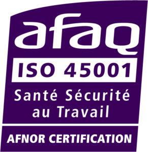 AFAQ ISO 45001 : Santé Sécurité au Travail